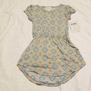 New LuLaRoe kids mae dress size 2